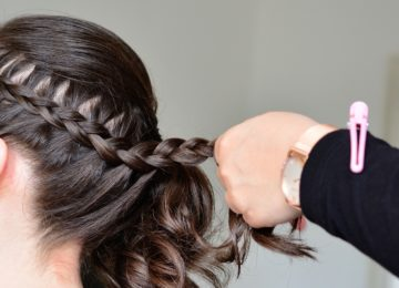 5 peinados favorecedores para cara redonda