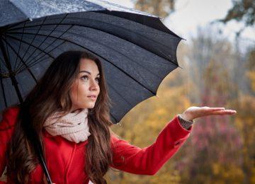 Cómo mantener el pelo bajo control en los días de lluvia